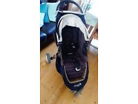 Baby Jogger City Mini single black/grey