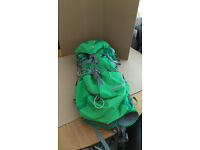 karrimor lite 45 lts green good con £12