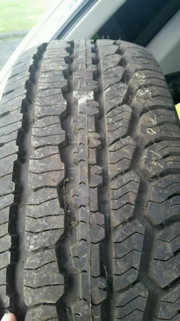 A/T bfg Goodrich longtrail tyre new 245/70-16