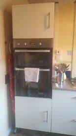 Double Oven Housing unit + Two large deep Drawers.
