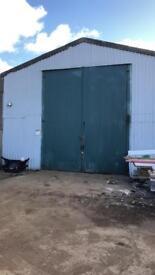 Unit work shop warehouse to rent let