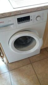Bosch washing machine - under a year old and excellent condition