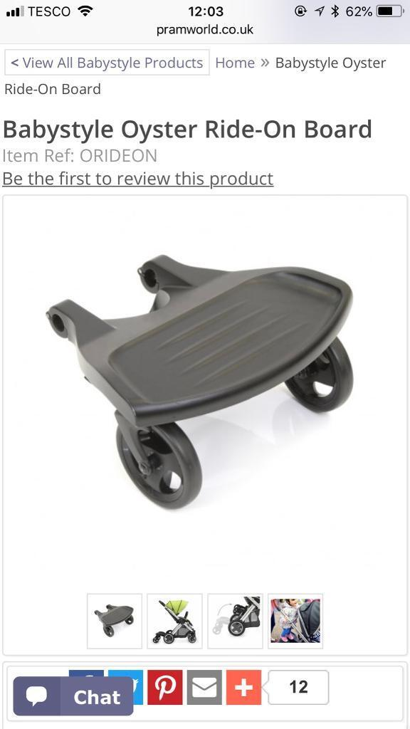 Oyster Toddler Buggy Board In Eastbourne East Sussex Gumtree