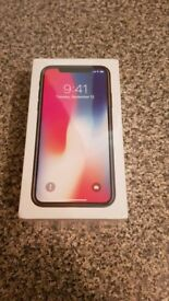 Brand New & Sealed IPhone X Space Grey 64gb Unlocked