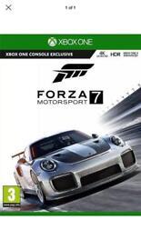 Xbox one Forza 7 Game