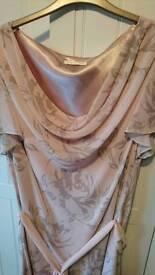 Jacques Vert pink dress size 24