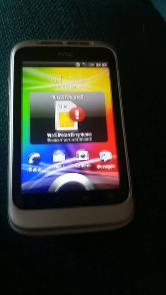 HTC desire c with casein Norwich, NorfolkGumtree - HTC desire c with case sim free. No charge (uses micro ucb) collection only smoke free home