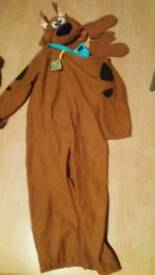 Scooby doo dress up kids costume