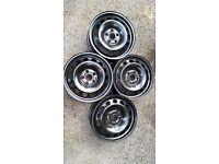Never used VW Golf winter car wheels x 4