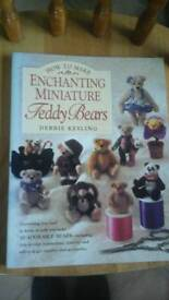 How to make miniature teddy bears