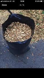 Wood chip/chippings/bark mulch