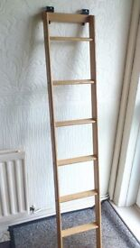 Bunk ladder complete with all fittings, from swift m/home, ideal for caravan, campervan, m/home