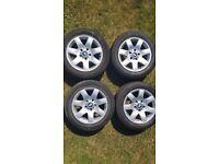 "4 x BMW 3 Series 16"" Wheels & Tyres Set BM316007"