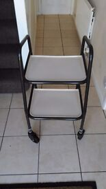 Adjustable Height Mobility Kitchen Trolley Walker Walking Aid - Fab Condition
