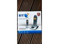 BT Big Button 4000 Cordless Telephone, brand new..