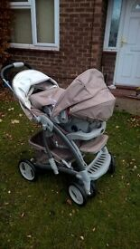 graco 3in1 travel system, brand new. not used still got all tags etc