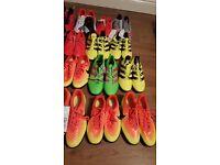 21 Pairs Of Football Shoes (Nike,Adidas,Puma)