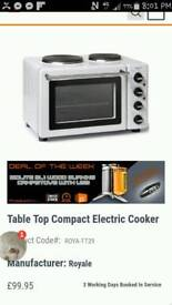 Brand new table top cooker