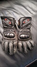 Motorbike ladies gloves - size 6