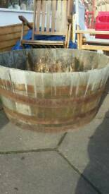 Wooden large planter