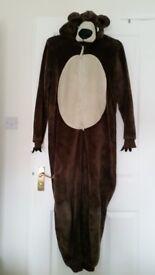 M&S bear onesie, age 15-16 years