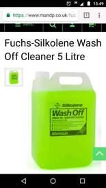Silkoline 5 litres wash off cleaning fluid