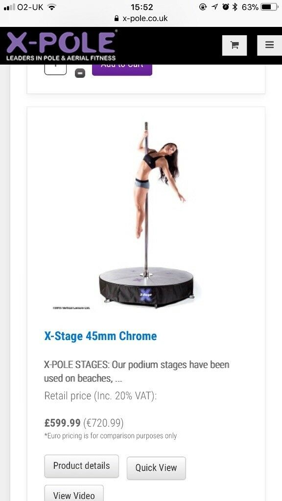 X-Pole Stage