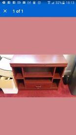 mahogonny corner tv cabinet