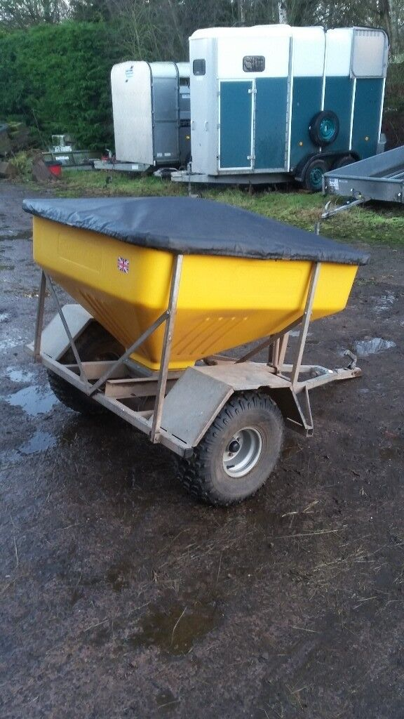 Quad Bike Trailer Feeder Snacker Port Agric Sheep