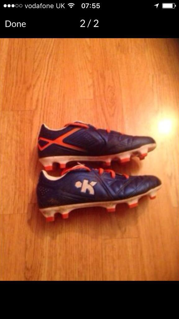 Size 13 kids football boots