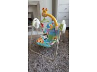 Baby swing, unisex, fisher price