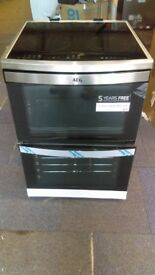 AEG Electric Induction Cooker - STAINLESS STEEL ex display