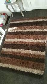 Chocolate rug