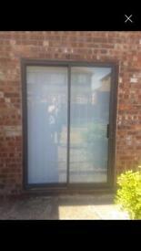 Patio Doors with frame double glazed