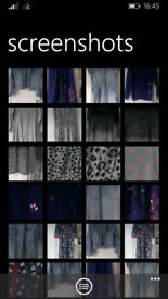 Girls clothes denim jacket/dress Christmas onesie sparkly top etc 3 each or all for £15 !