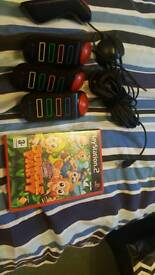 Buzz jnr jungle party ps2 game
