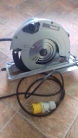 235mm Makita circular saw 110v