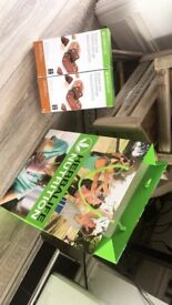 Various boxes of Herbalife protein bars