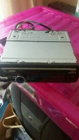 Sony xplod ipod docking car radio