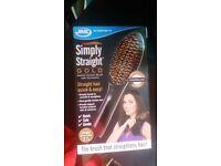simply straight hairbrush