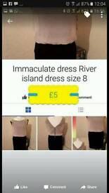 Immaculate Riverisland dress size 8