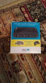 Wii u GameCube controller adapter official