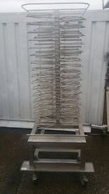 Rational Mobile Plate Rack 60 Plates Stainless Steel will fit SCC or CM Rational Models: 2004-2011