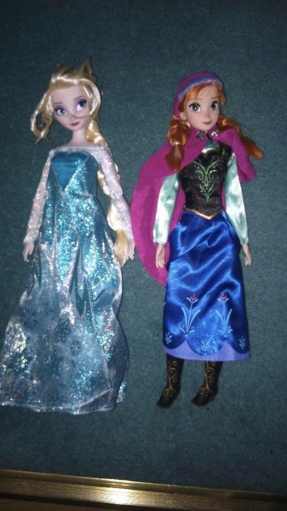 Frozen classic dolls disney store