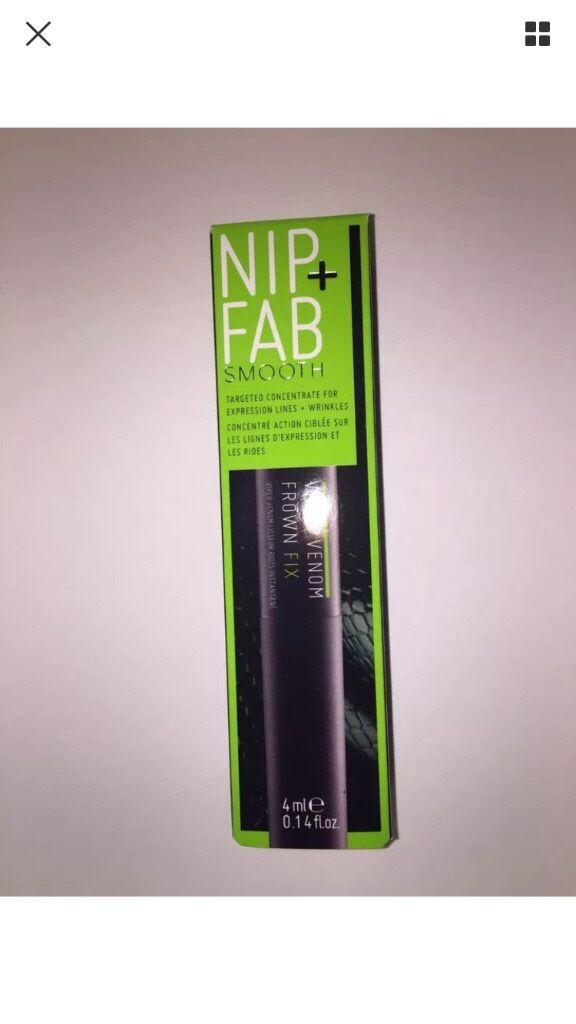Nip + Fab Viper Venom Frown Fix - BRAND NEW IN BOX