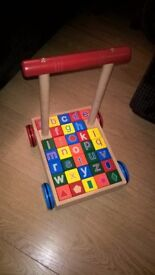 Alphabet block walker