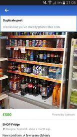 shop chiller fridge
