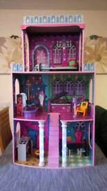 Giant Spooky Gothic Dolls House