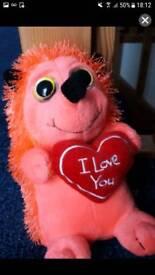 I love you hedgehog