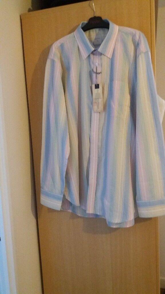 Gents Samuel Windsor Striped Shirt